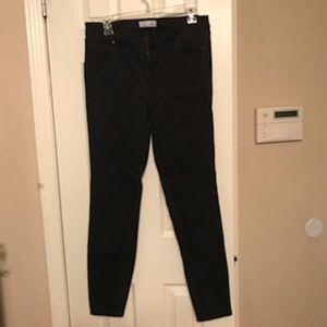 Ann Taylor Loft Skinny Jeans Legging Black